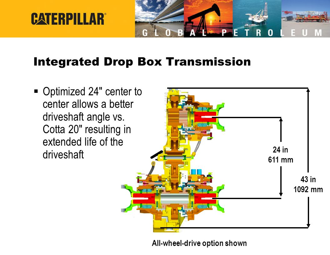 Integrated Drop Box Transmission