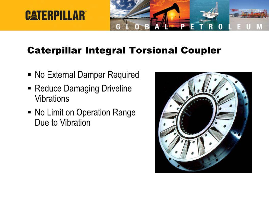 Caterpillar Integral Torsional Coupler