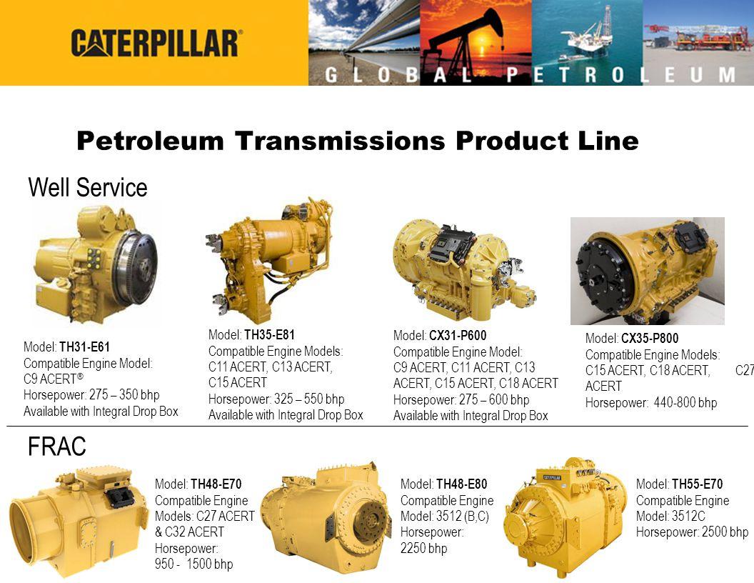 Petroleum Transmissions Product Line