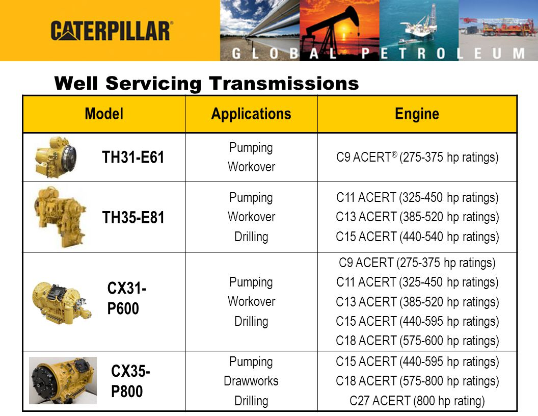 Well Servicing Transmissions