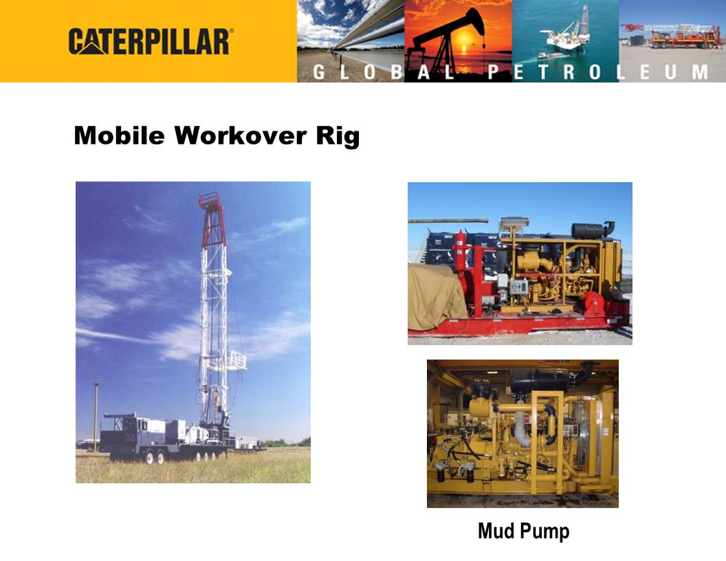 Mobile Workover Rig Mud Pump