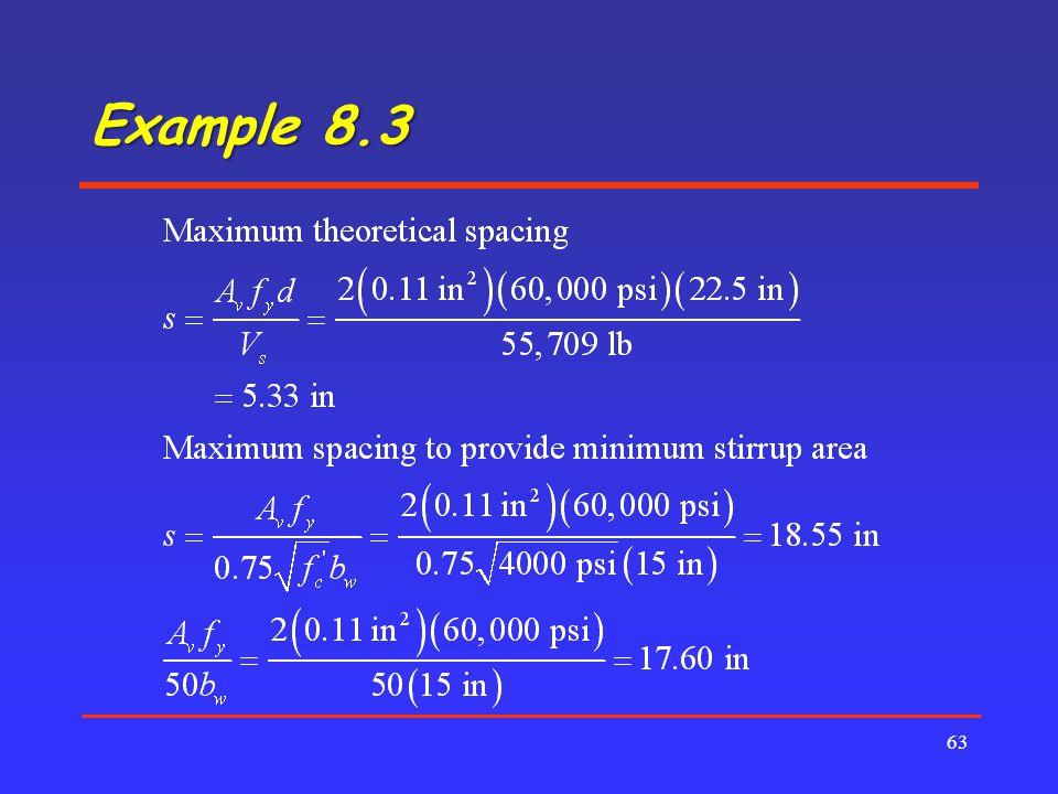 Example 8.3