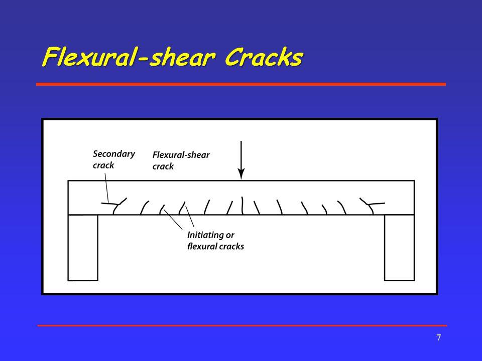 Flexural-shear Cracks