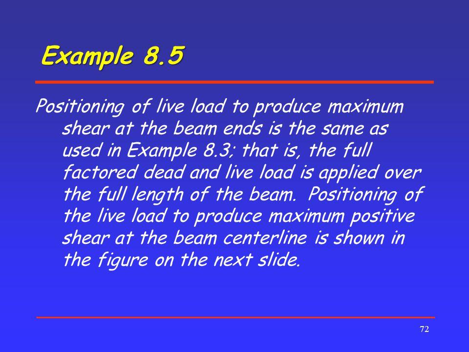 Example 8.5