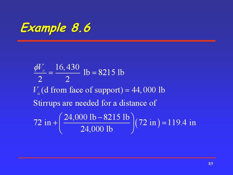 Example 8.6