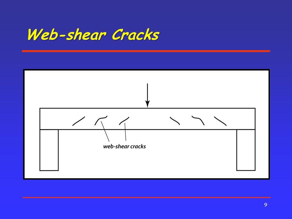 Web-shear Cracks