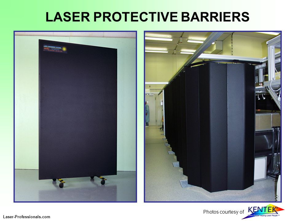 LASER PROTECTIVE BARRIERS