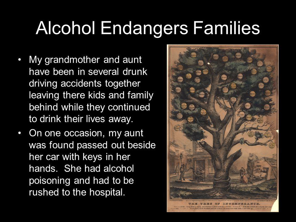 Alcohol Endangers Families