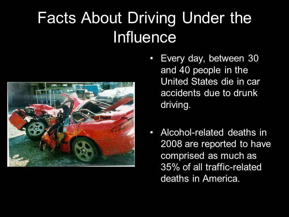 Facts About Driving Under the Influence