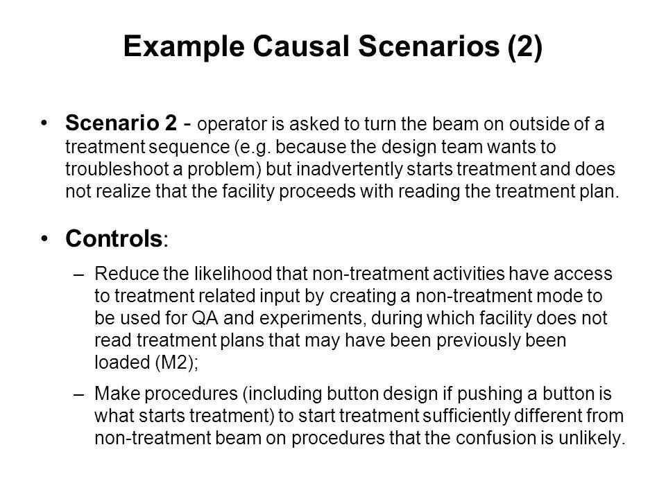 Example Causal Scenarios (2)