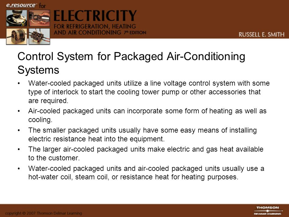 Control System for Packaged Air-Conditioning Systems