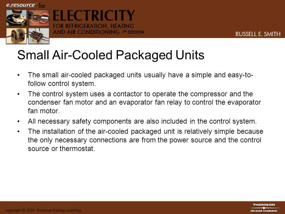 Small Air-Cooled Packaged Units