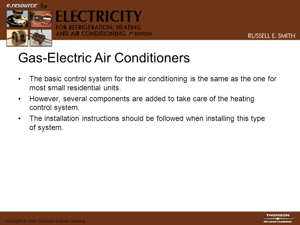 Gas-Electric Air Conditioners