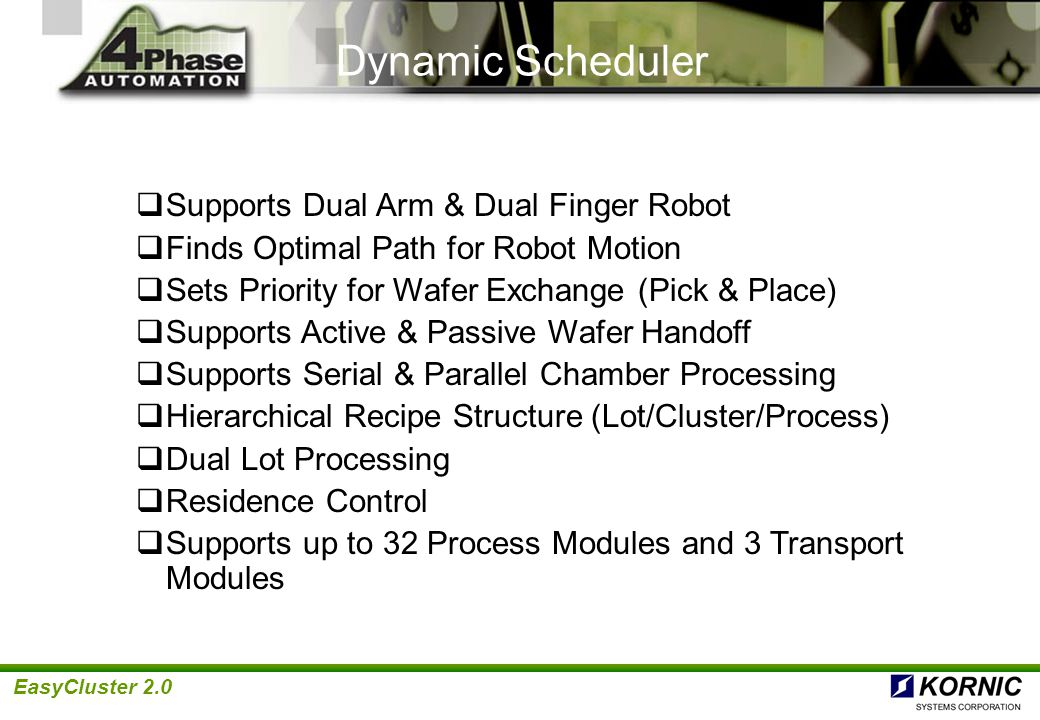 Dynamic Scheduler Supports Dual Arm & Dual Finger Robot