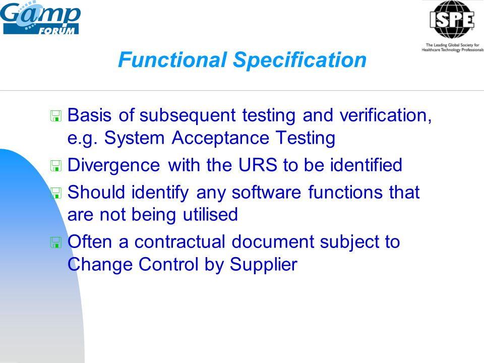 Functional Specification