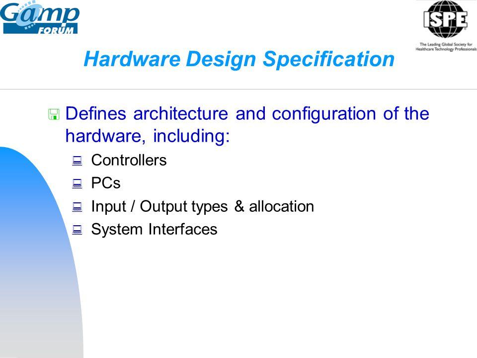 Hardware Design Specification