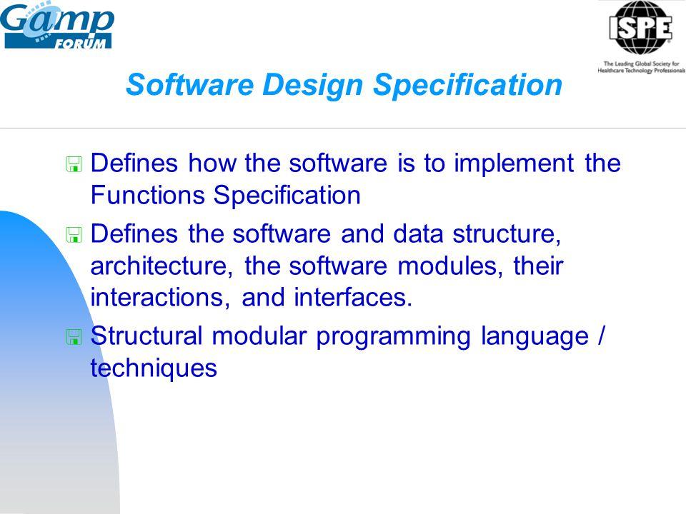Software Design Specification