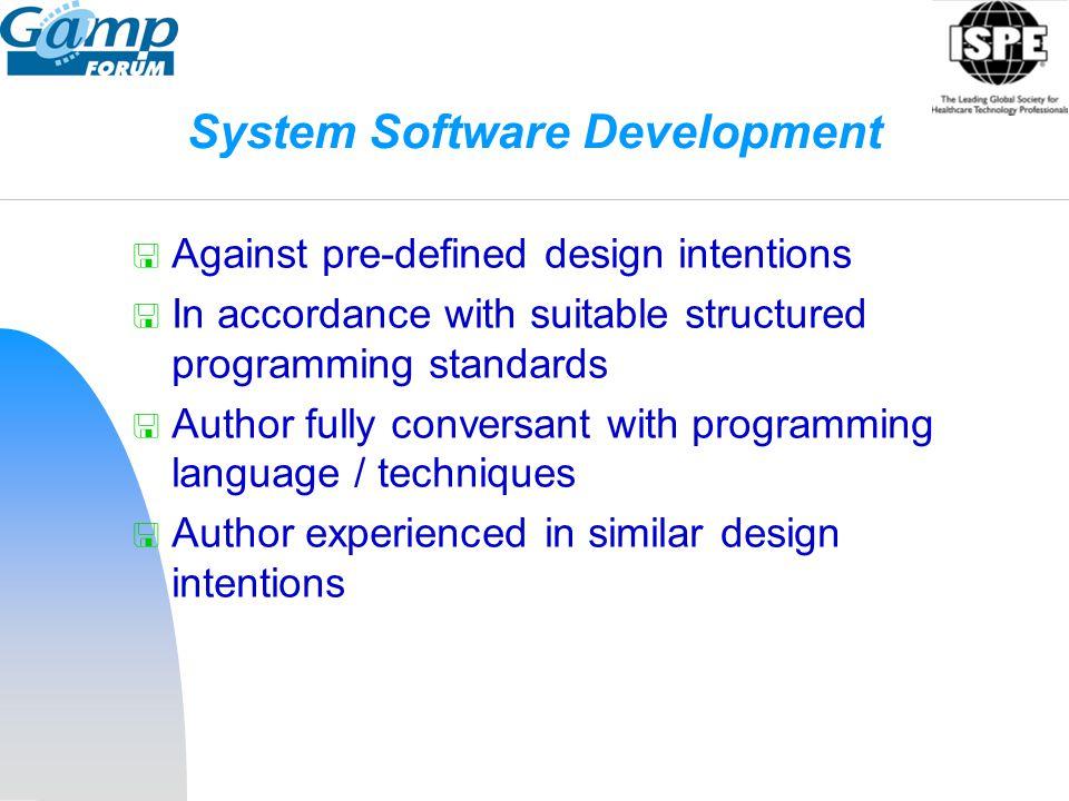System Software Development