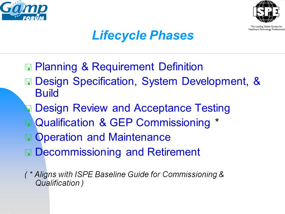 Lifecycle Phases Planning & Requirement Definition