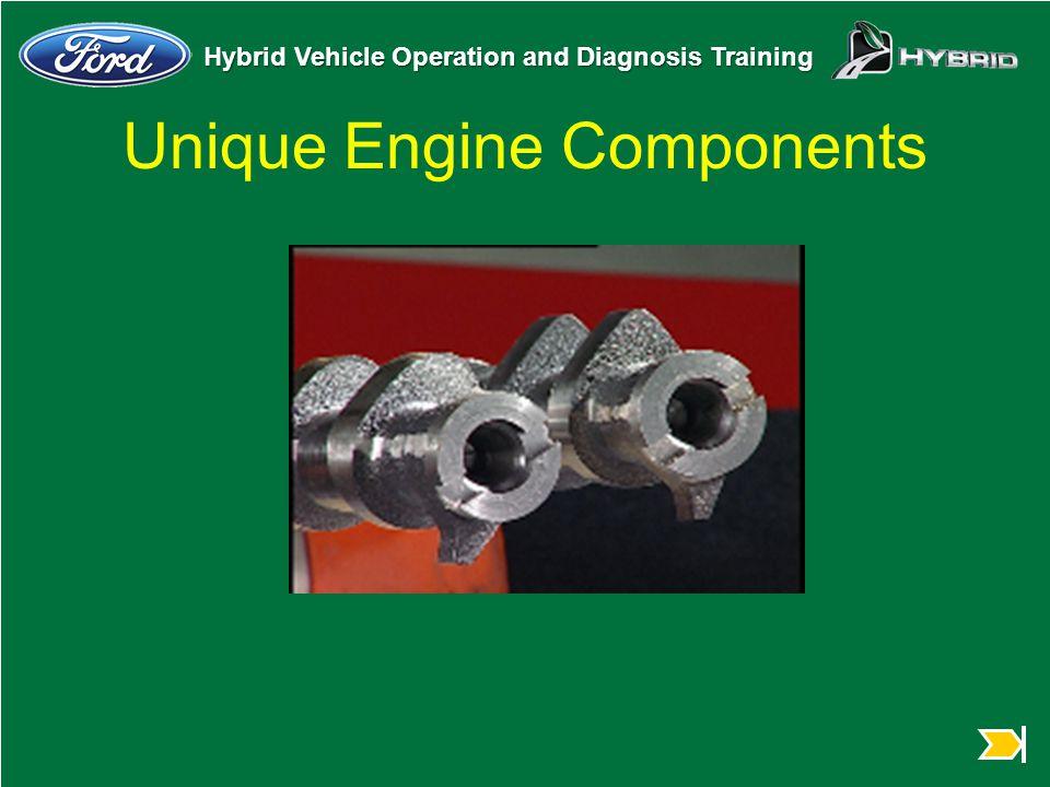 Unique Engine Components