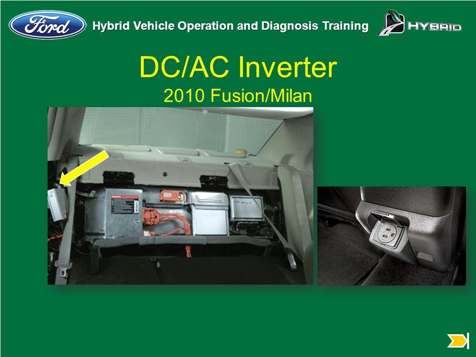 DC/AC Inverter 2010 Fusion/Milan