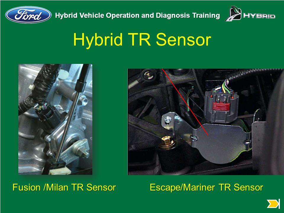 Hybrid TR Sensor Fusion /Milan TR Sensor Escape/Mariner TR Sensor