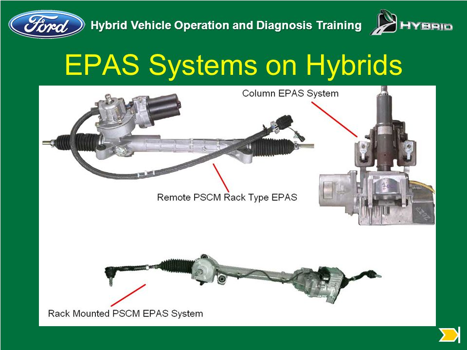 EPAS Systems on Hybrids