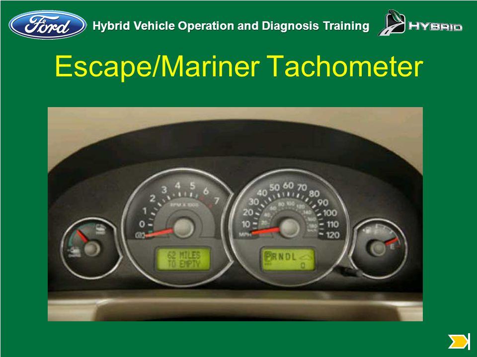 Escape/Mariner Tachometer