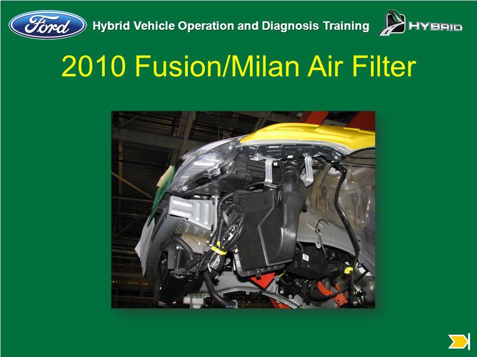 2010 Fusion/Milan Air Filter