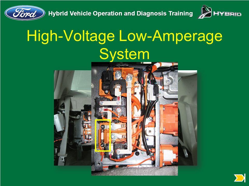 High-Voltage Low-Amperage System
