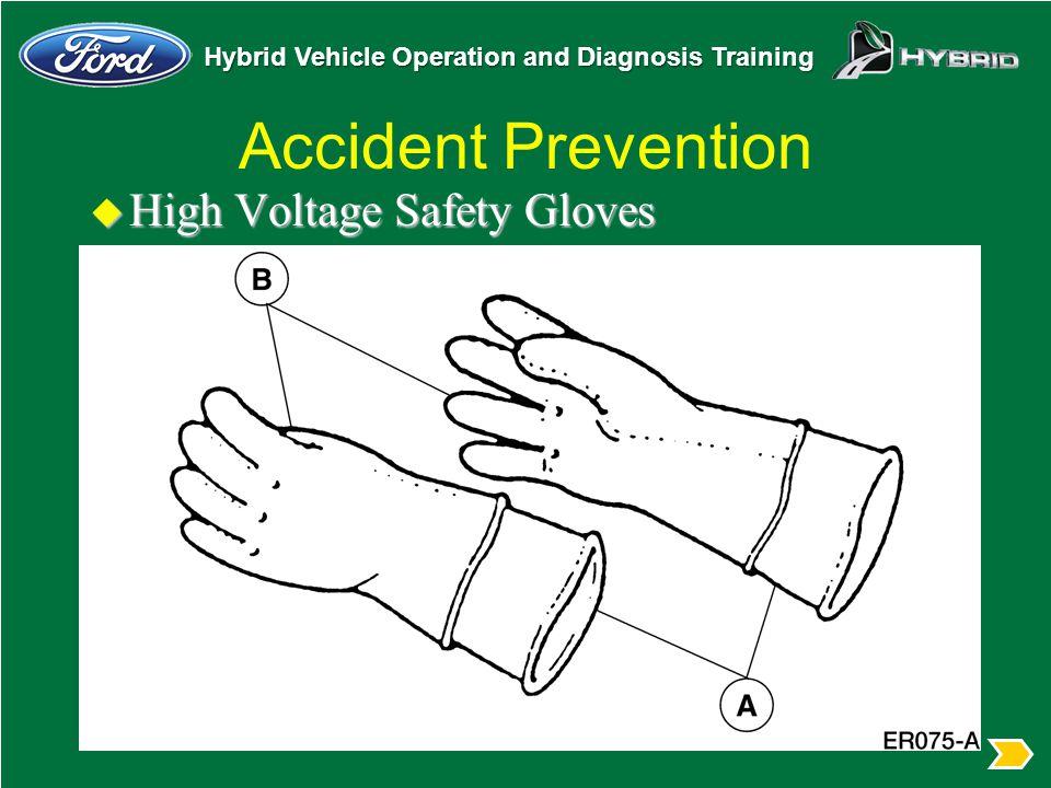 Accident Prevention High Voltage Safety Gloves