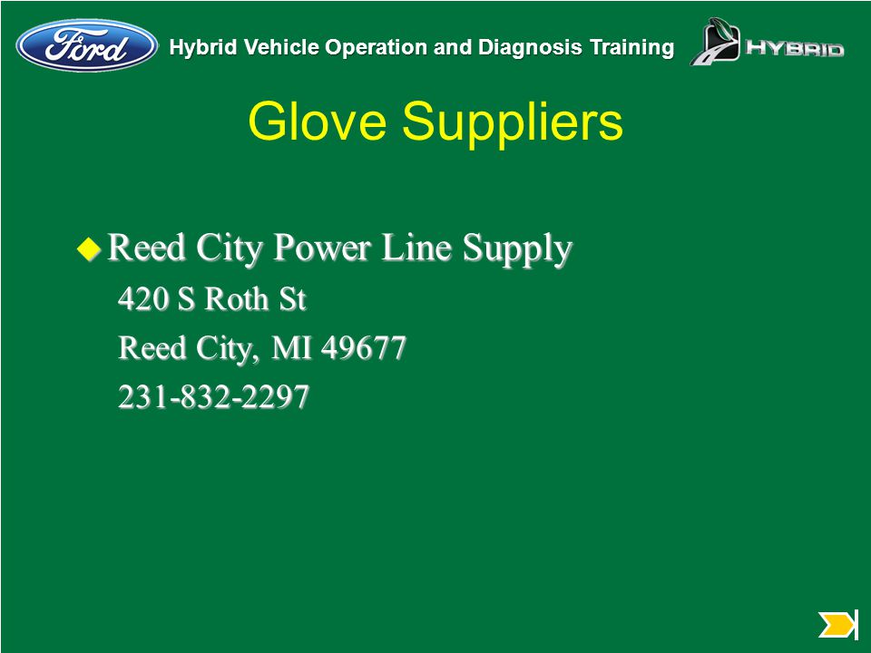 Glove Suppliers Reed City Power Line Supply 420 S Roth St