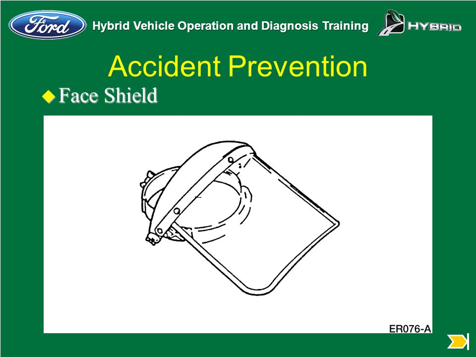 Accident Prevention Face Shield