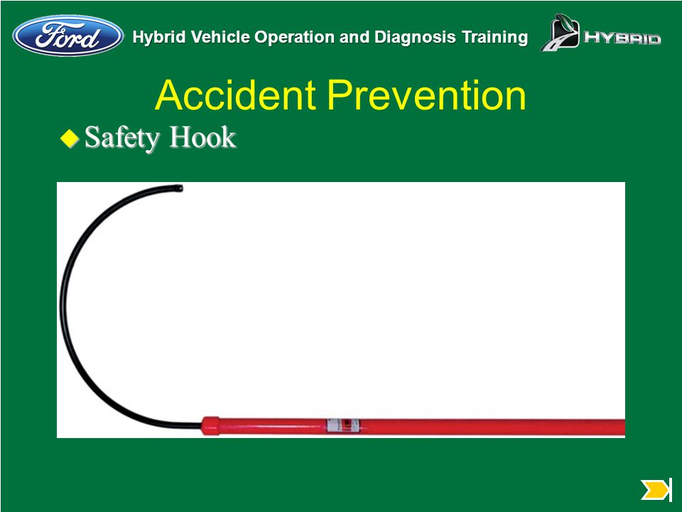 Accident Prevention Safety Hook