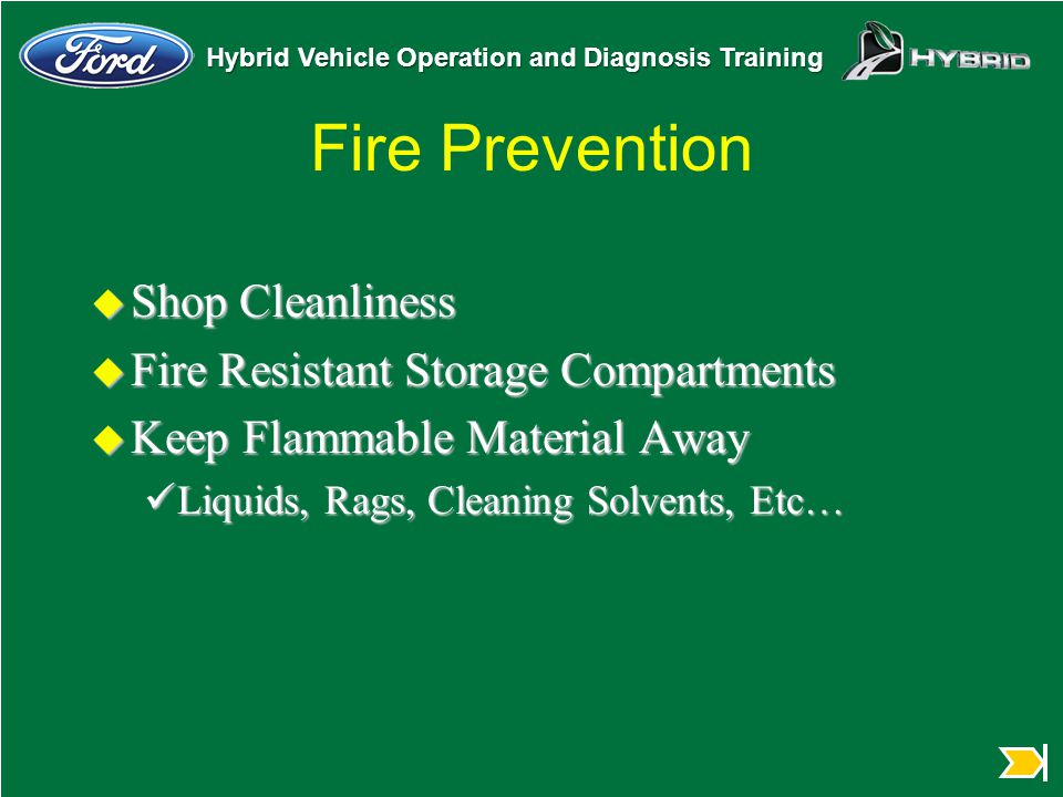 Fire Prevention Shop Cleanliness Fire Resistant Storage Compartments