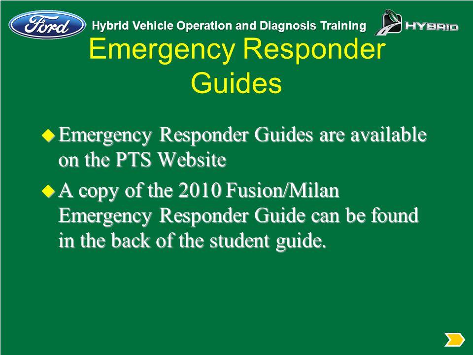 Emergency Responder Guides