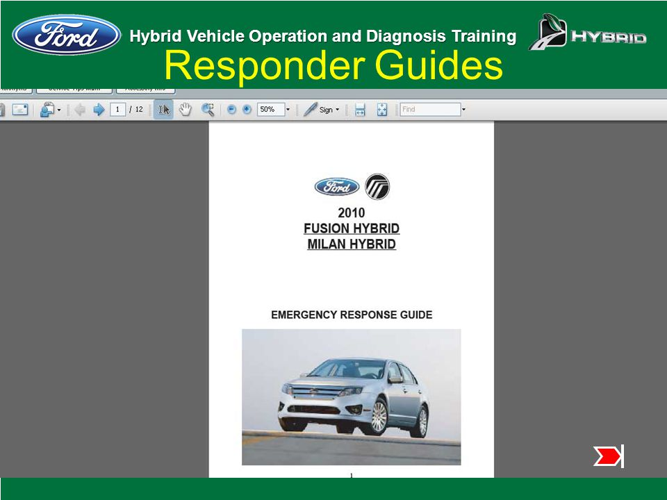 Responder Guides This will bring up the guide as an Adobe Acrobat file.