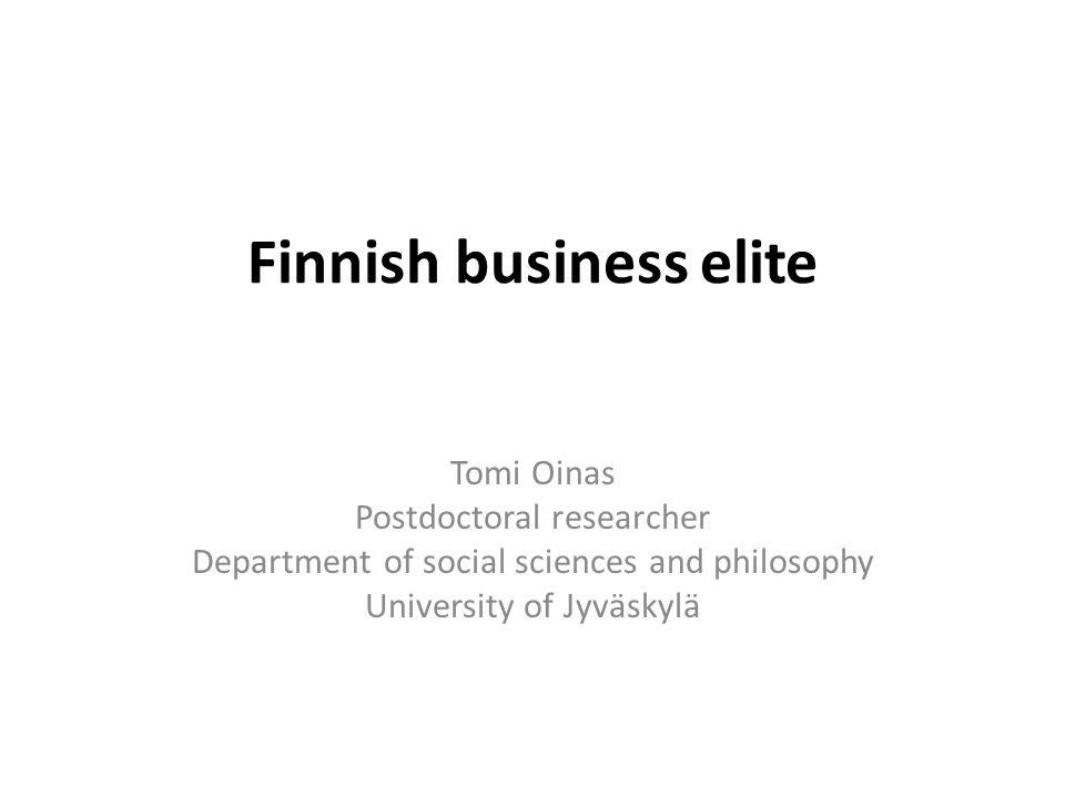 Finnish business elite