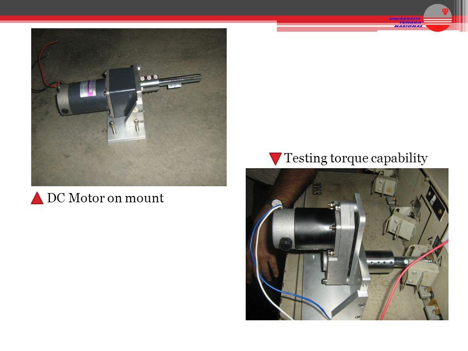Testing torque capability