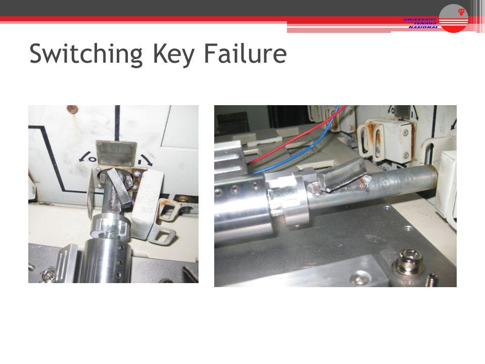 Switching Key Failure