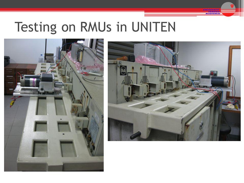Testing on RMUs in UNITEN