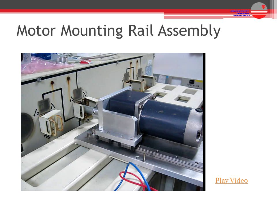 Motor Mounting Rail Assembly