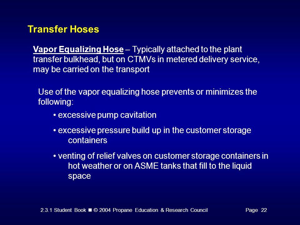 Transfer Hoses