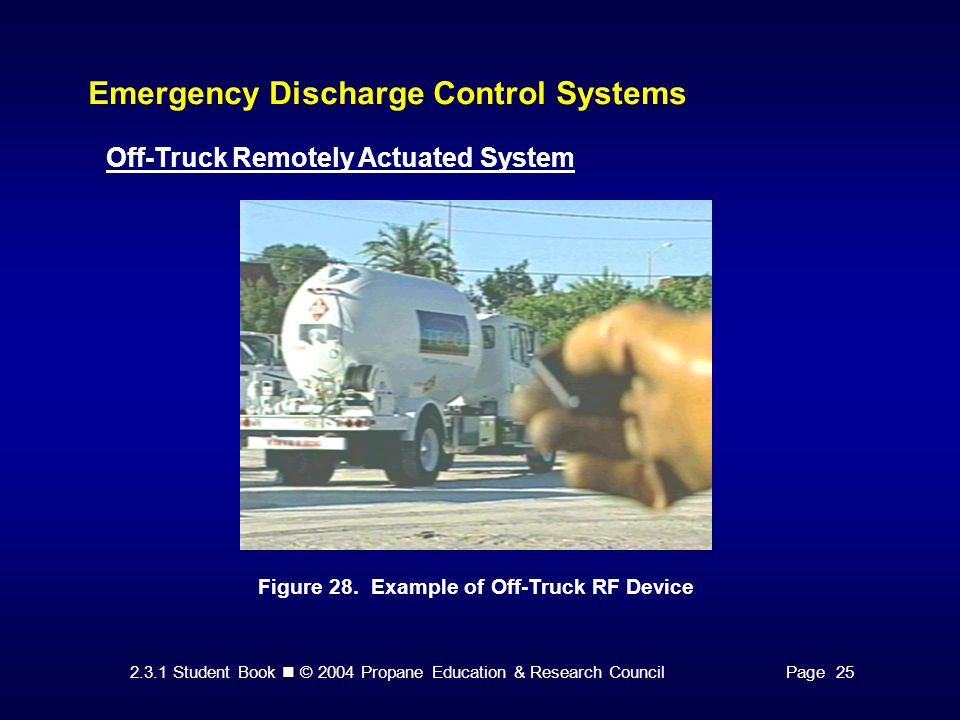Emergency Discharge Control Systems
