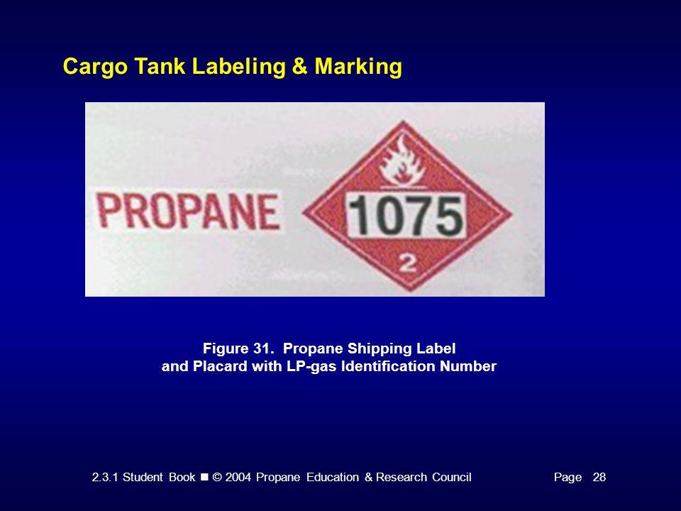 Cargo Tank Labeling & Marking