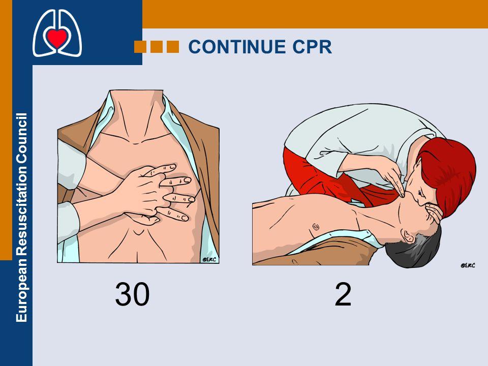 CONTINUE CPR 30 2