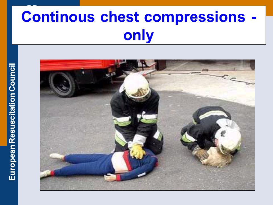 Continous chest compressions - only