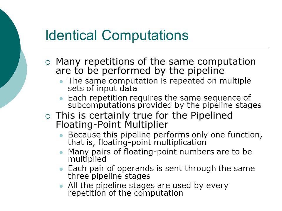 Identical Computations