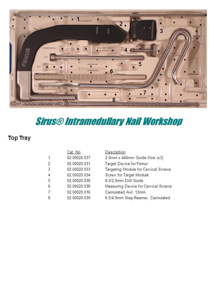 Sirus® Intramedullary Nail Workshop