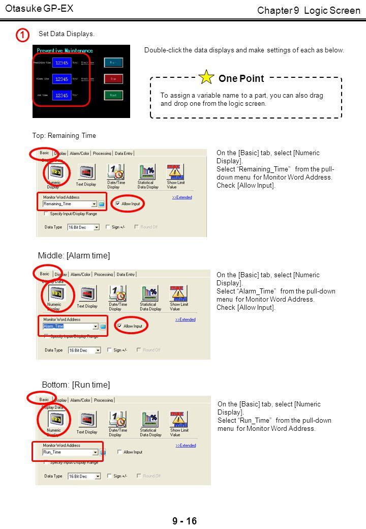 Otasuke GP-EX 2 One Point Set Switches.